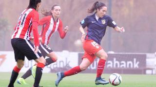 Silvia Meseguer volvió a jugar en el Athletic Club - Atlético Féminas.