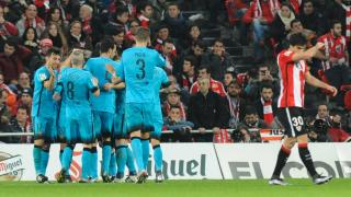 Athletic - FC Barcelona. ATHLETIC DE BILBAO-BARCELONA 20-01-2016