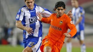 Banega. Valencia CF. Temporada 2007/08.