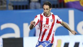 Juanfran Torres. Atlético de Madrid. Temporada 2010/11.