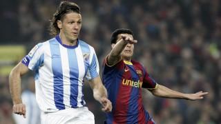 Demichelis. Málaga CF. Temporada 2010/11.