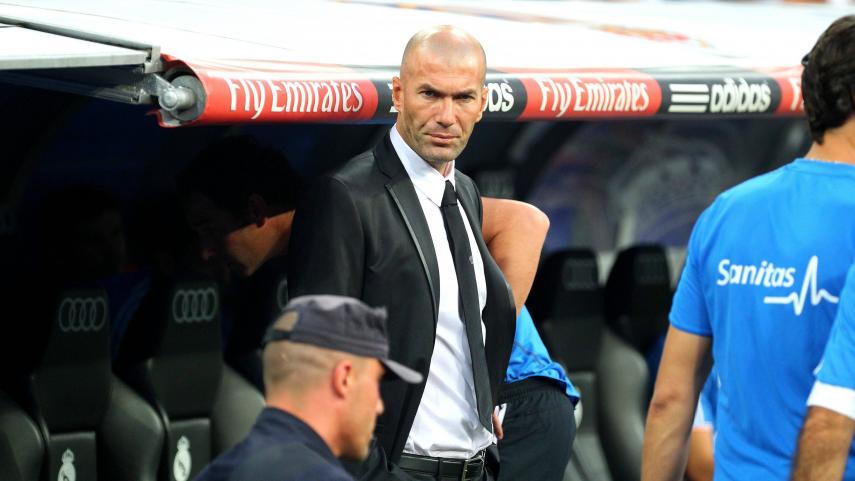 Zidane Nuevo Entrenador Del Real Madrid Laliga