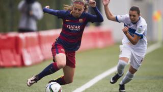 Alexia Putellas, durante una jugada del partido entre el FC Barcelona y el Granadilla Egatesa, en la Primera División Femenina.