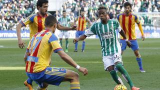 Musonda, durante el R. Betis - Valencia.