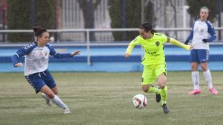 Alharilla fue la encargada de abrir el marcador en el T.Alcaine ZGZ - Levante Femenino.