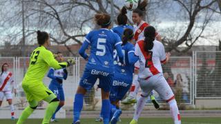 Ale firmó el primer tanto en el Rayo - Granadilla Egatesa de la Primera División Femenina.