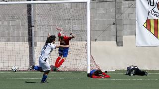 El Oiartzun KE consiguió empatar ante el Collerense en el descuento, en la Primera División Femenina.