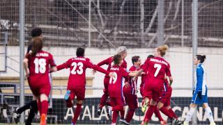 El At. Madrid Féminas marcó el gol de la victoria en el minuto 86.