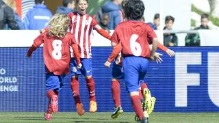 ÍscarCup 2016 LaLiga Promises - Primera jornada de competición. ATLETICO DE MADRID - SPORTING DE GIJON
