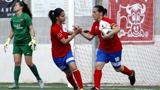 Pili Espadas marcó el gol del Collerense.