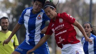 Partido muy disputado en la Dani Jarque entre el Espanyol y el Granadilla Egatesa.