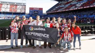 El Vicente Calderón hizo vibrar a los aficionados en la Liga BBVA Experience