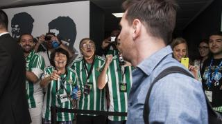 Los fans de LaLiga de Argentina, Brasil y Trinidad y Tobago pudieron ver de cerca a Lionel Messi tras el R. Betis - FC Barcelona