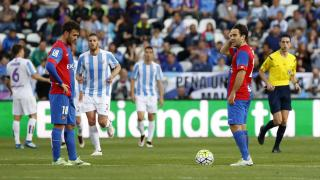 Málaga - Levante. Partido Málaga-Levante
