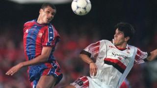 Juan Carlos Valerón junto a Rivaldo en la final de la Copa del Rey de 1998 - EFE/J.C. CARDENAS