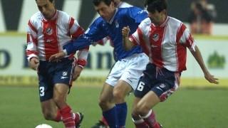 Juan Carlos Valerón en un partido ante el R. Oviedo durante su etapa en el Atlético Madrid - EFE/BERNARDO RODRÍGUEZ