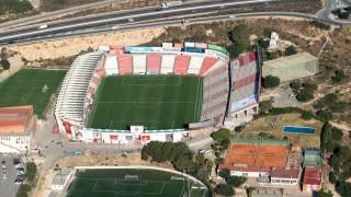 Nou Estadi de Tarragona, el hogar del Nàstic