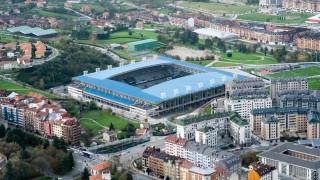 Estadio Carlos Tartiere, en Oviedo