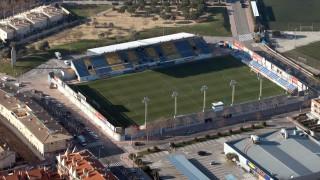 El Nou Estadi de Palamós, donde el Llagostera juega sus partidos como local