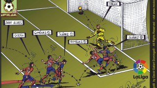FC Barcelona 2-1 Atlético Madrid