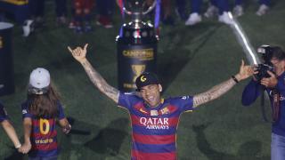 El FC Barcelona celebró el doblete conseguido: LaLiga + Copa del Rey