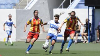 Maria José, autora del gol de la victoria ante el Valencia.