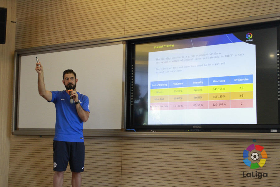 LaLiga continues its school coaches training programme in