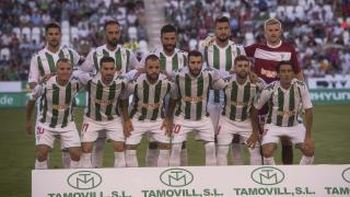 Once inicial del Córdoba en su primer partido del curso