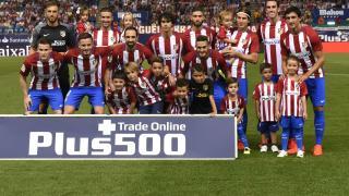 Primera alineación del Atlético en LaLiga Santander 2016/17