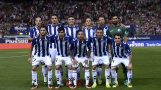 Primer once del Alavés en su regreso a LaLiga Santander