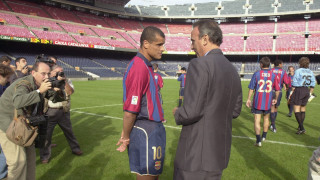 Rivaldo. FC Barcelona. Temporada 1997/98