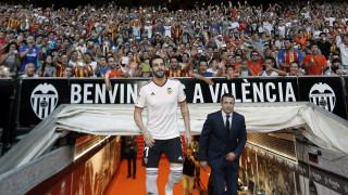 Álvaro Negredo. Valencia CF. Temporada 2014/15