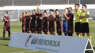 Las 11 protagonistas del F. Albacete.