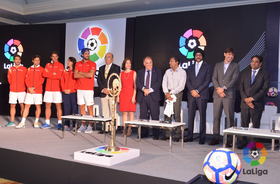 LaLiga inaugurates office in India | Liga de Fútbol Profesional