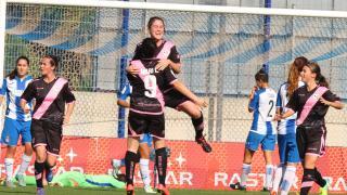 Mendi marcó el tercer gol del Rayo Vallecano.
