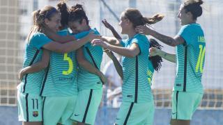 Melani Serrano marcó el gol de la victoria del Barcelona.