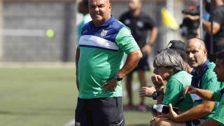 Tony Ayala, técnico del Granadilla Egatesa.