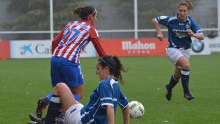 Marta Corredera se estrenó como goleadora con el Atlético de Madrid Femenino.