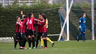 El Sporting de Huelva se lleva los tres puntos de Zubieta.