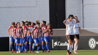 Amanda Sampedro adelantó al Atlético.