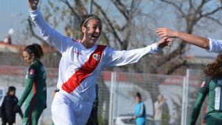 Natalia Pablos, autora de los dos goles del Rayo Vallecano.