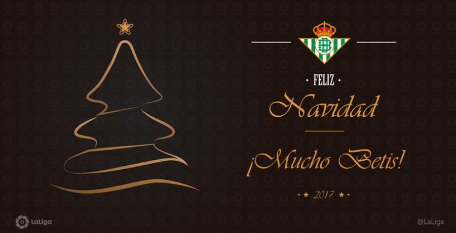 Felicitacion Navidad Personalizada Fotos.Laliga Te Acerca La Navidad Con Postales Descargables De Tu