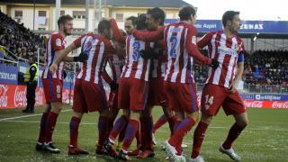 Eibar - Atlético. PARTIDO
