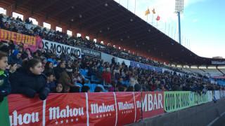 Más de 3.000 aficionados presenciaron el partido entre el Zaragoza CFF y el VCF Femenino.