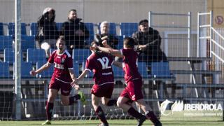 Con su victoria ante el Espanyol, el Oiartzun sumó su primera victoria de la temporada.