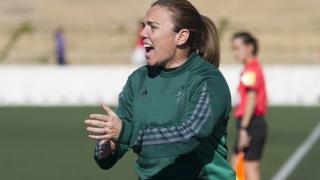 María Pry, la entrenadora del R. Betis Féminas.