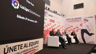 LaLiga Global Network - Rueda de prensa Vicente Calderón.