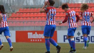 Corredera marcó en la victoria del Atlético.