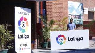 Carolina Marín con LaLiga en la India