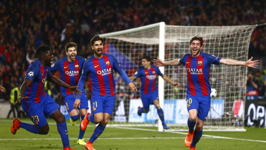 Barcelona Complete Historic Comeback In The Champions League Laliga